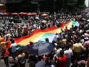 LGBT groups in Mexico are celebrating the Supreme Court's landmark decision for gay marriage rights.