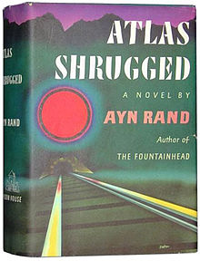 The first edition of Atlas Shrugged