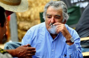 José Mujica, president of Uruguay, was the first to legalize marijuana in Latin America.