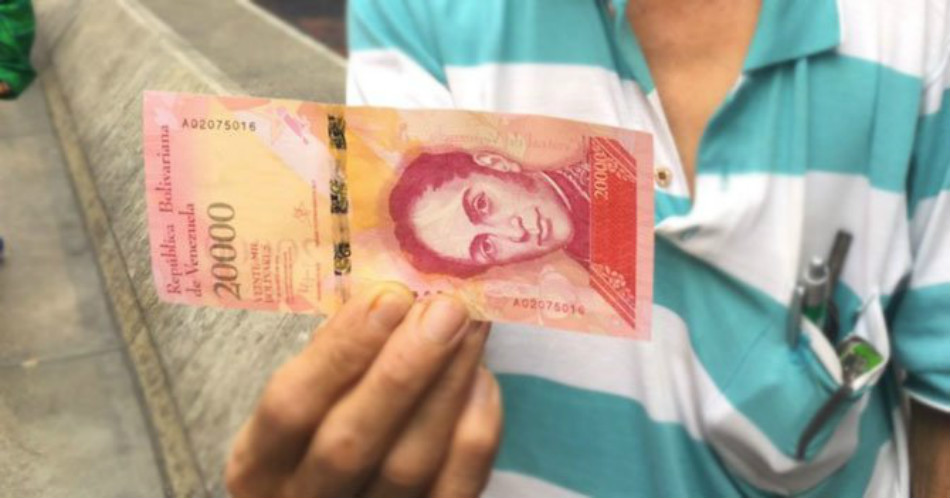 Venezuela's New Highest Denomination Bills