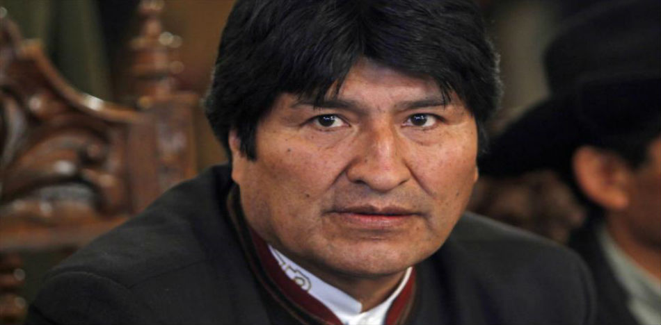 Bolivia Vice President said he won't support Morales