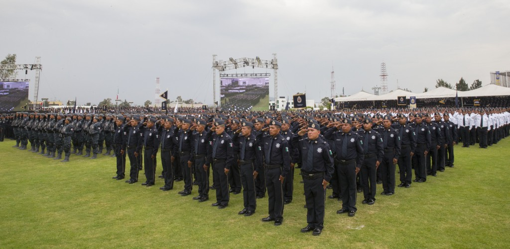 Members of the new special police force.