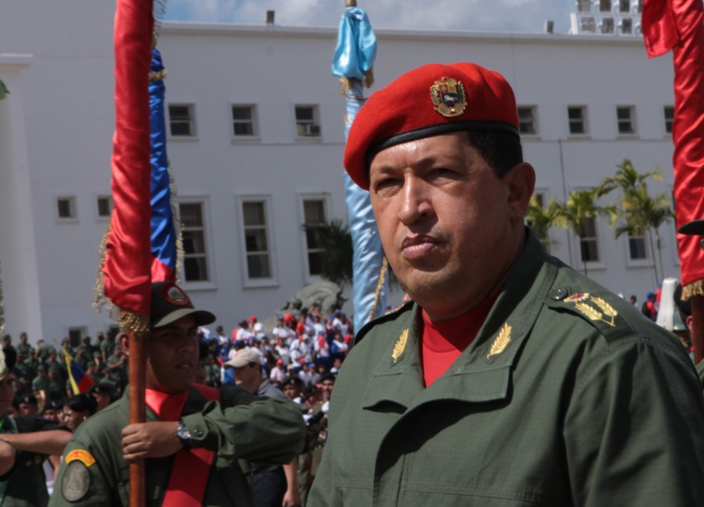Late charismatic leader Hugo Chávez used to say an alliance between the Venezuelan military and the people was necessary to keep the Bolivarian revolution alive. (Minci)