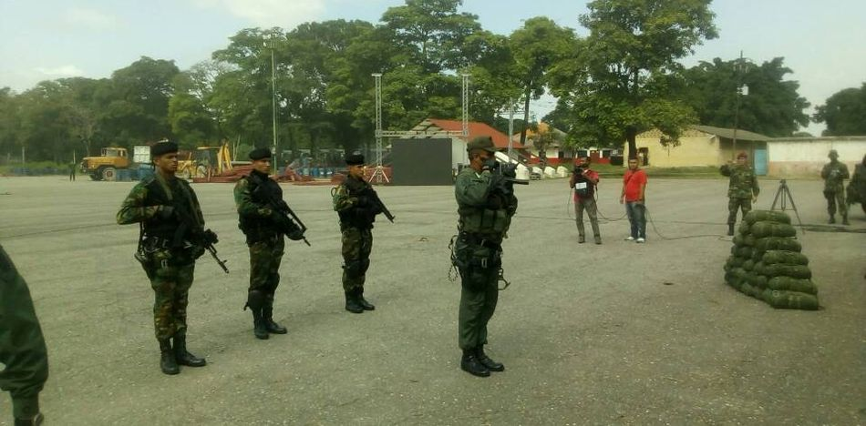 Clash between Venezuelan Army and Colombian Gang