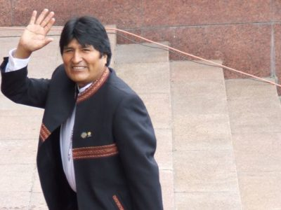 Evo Morales justifica atropello
