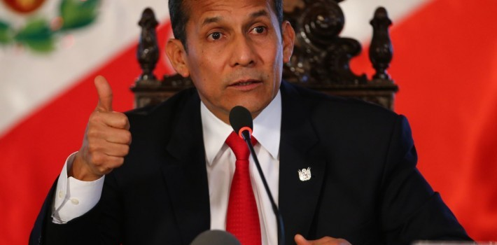 Brazil's federal police claims that Peruvian President Ollanta Humala received bribes from a Brazilian construction firm.
