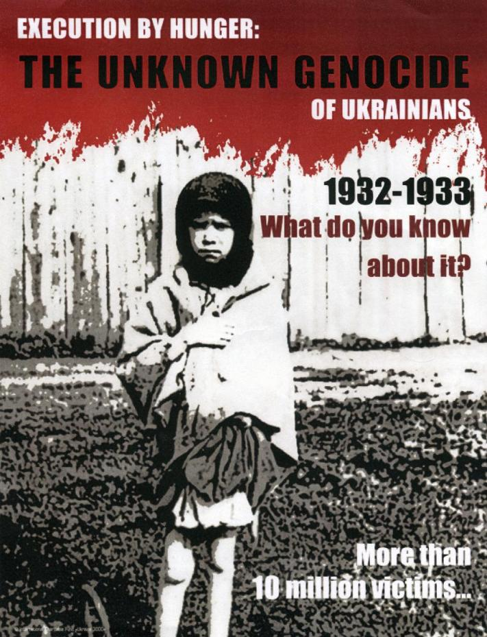 essay on ukraine genocide The draft law envisaged prosecution for public denial of the holodomor famine of 1932–1933 in ukraine as a fact of genocide of the ukrainian essays and.