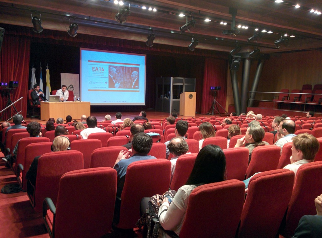 Over a hundred people from Europe and the Americas attended the conference.