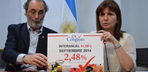 Members of Argentina's Congress began releasing their own inflation estimates in June 2011.