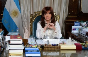 President Cristina Kirchner announced proposed reform to Argentina's Criminal Procedural Code in a message recorded from the Pink House.