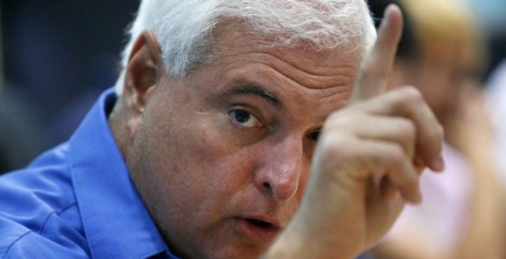 Former Panamanian President Ricardo Martinelli was part of an extortion plot against an Italian company, according a judge's ruling.