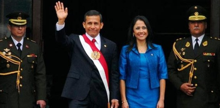 Peru's First Lady Nadine Heredia
