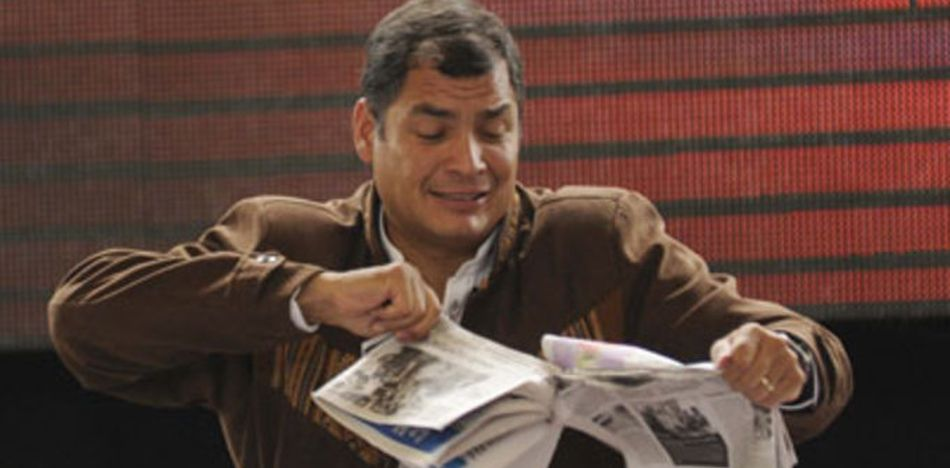 Persecution of Ecuador Media