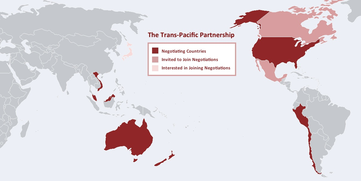 Trans Pacific Partnership Tpp Overview International Forum On