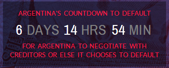 Countdown clock on ATFA website
