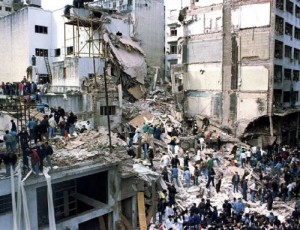 The 1994 terrorist attack against the AMIA Jewish community center in Buenos Aires left 85 dead and over 300 wounded.