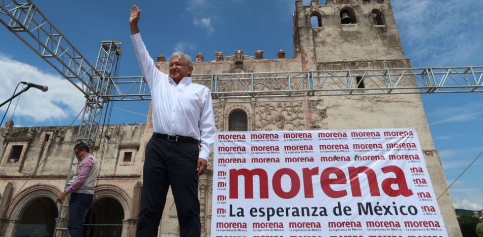 Mexican Leftist Candidate AMLO