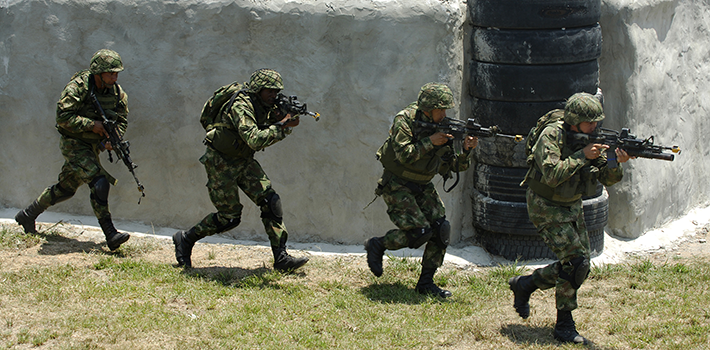 Colombian Army Special Forces
