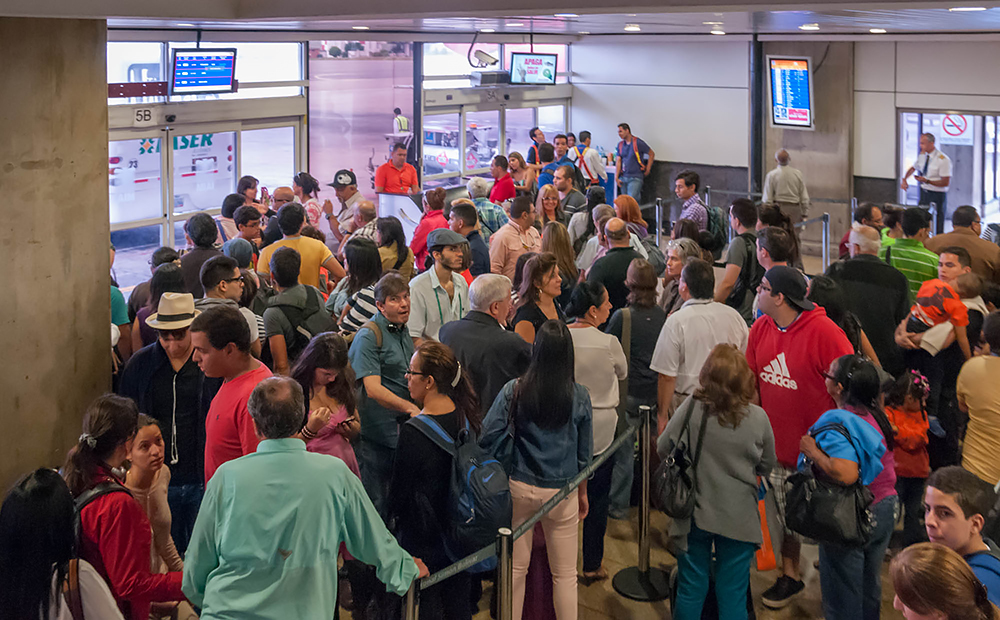 Emigrating is a challenging process for Venezuelans