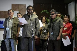FARC's lead negotiator in Havana, Iván Márquez, announced a unilateral ceasefire to last one month.