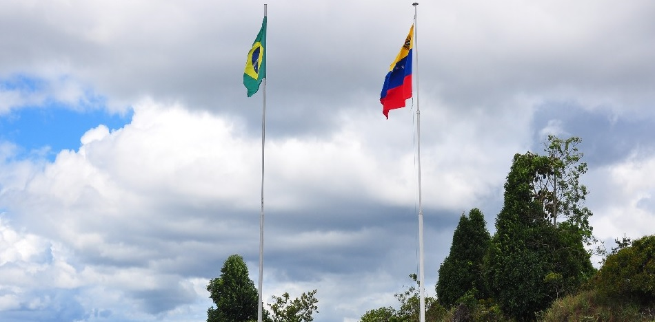 Brazil's border with Venezuela