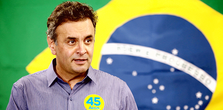 Brazilian Social Democrat Aécio Neves earned a surprise second-place finish in Sunday's election and will now face Dilma Rousseff in a presidential runoff.