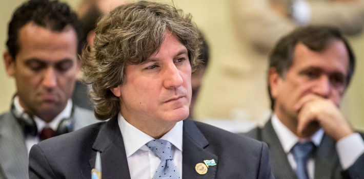 Amado Boudou has been Argentina's vice president since 2011.