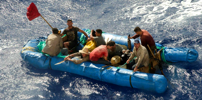 For over 50 years, Cubans have dared to cross the 150 km-wide Florida Strait with the purpose of reaching the United States of America. (Globovisión)
