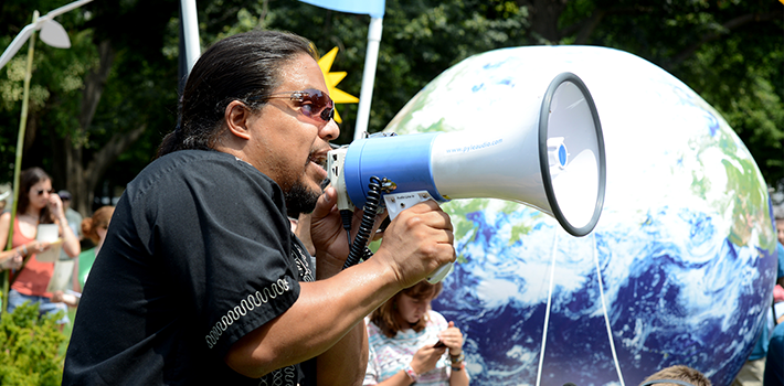 Protesters cannot conceive of a means of combating climate change other than state coercion.