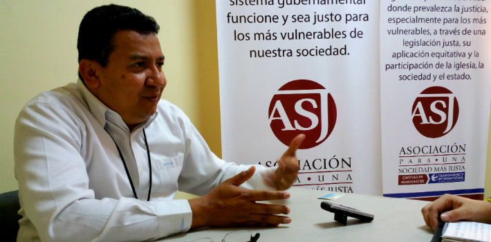 "Carlos Hernández believes that in spite of some progress against corruption, Honduras needs public policies specifically designed to fight impunity. <a href=""http://asjhonduras.com/webhn/"" target=""_blank"">(ASJ</a>)"