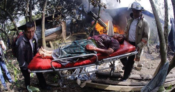 Violent clashes over the construction of a cement manufacturer in Guatemala left 10 dead.