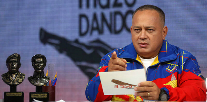 Venezuelan NGOs Provea and Public Forum believe Diosdado Cabello illegally intercepted their private communications.