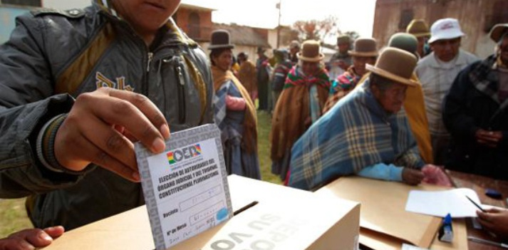 Eighty percent of registered voters participated in Bolivia's national elections on Sunday.