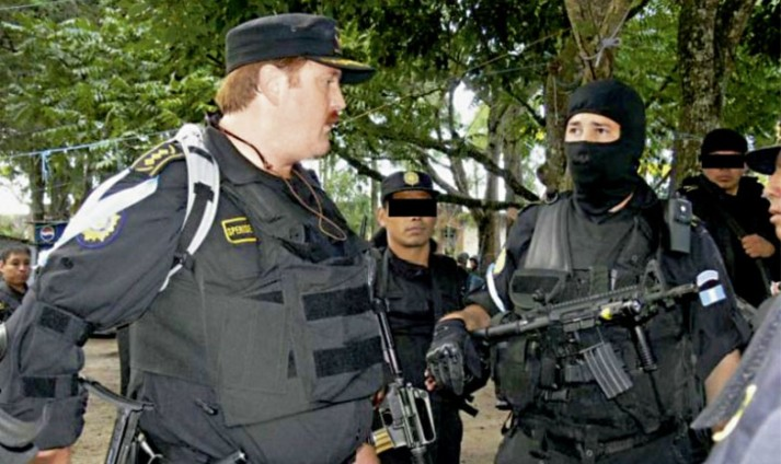 Former Guatemala police chief Erwin Sperisen was rarely seen without being armed to the teeth.