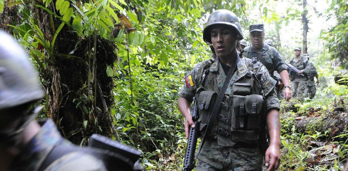 The FARC has bombed pipelines and intercepted trucks transporting oil, spilling some 200,000 gallons.