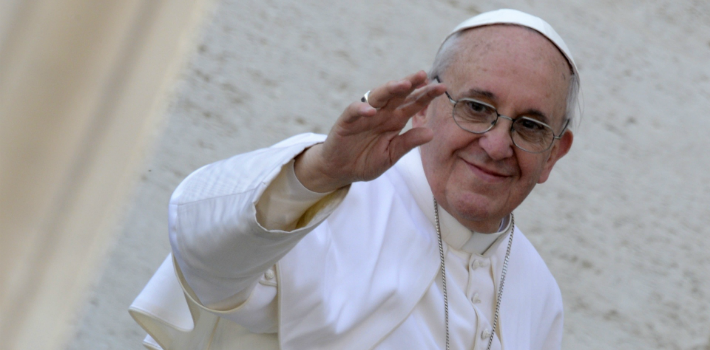 Pope Francis's criticisms of money paint man as a victim, incapable of free will
