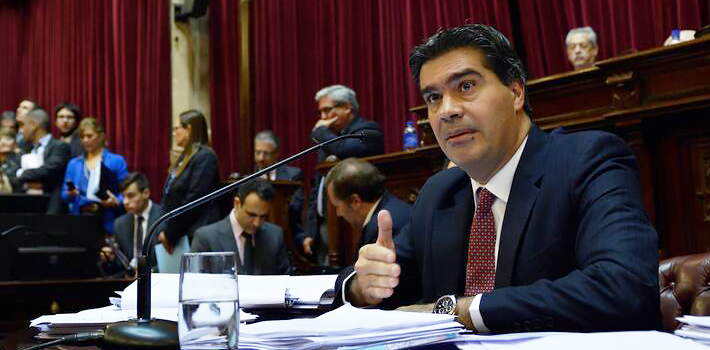 Chief of the Argentinean Cabinet of Ministers Jorge Capitanich.