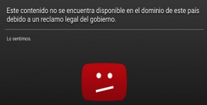 Juan's viral video was made unavailable for vewing in Argentina after the authorities asked YouTube to censor it.
