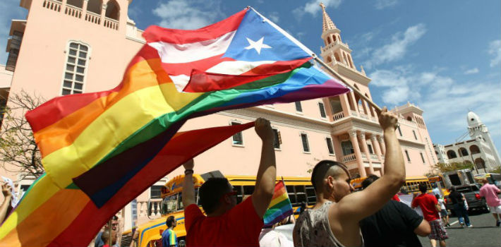 LGBT organizations in Puerto Rico have been fighting for the right to marry for years.