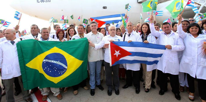 Eighty percent of personnel in Brazil's More Doctors program are Cubans, many of whom have brought their families with them.