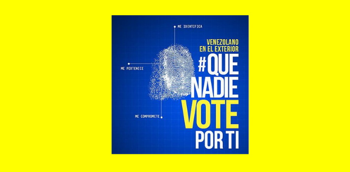 A Venezuelan NGO launched a campaign to prevent people voting more than once using different IDs (<em>PanAm Post</em>)