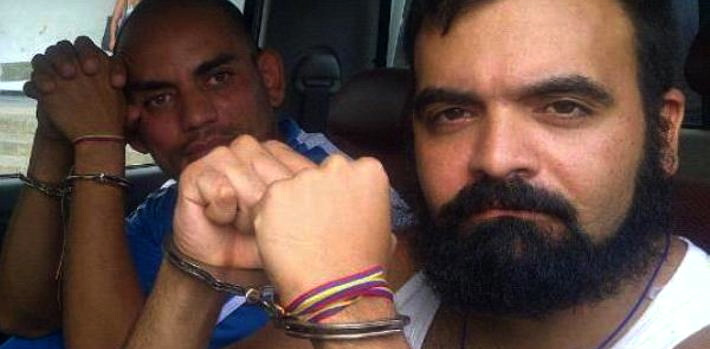 "Alexander ""El Gato"" Tirado and Raúl Emilio Baduel have been sentenced to eight years in prison in Venezuela, but protest their innocence."