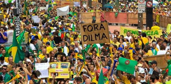 Rousseff's administrationis faltering after corruption allegations reaching back to predecessor Lula da Silva