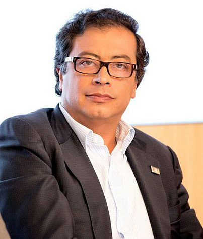 Gustavo Petro, former member of a militant guerrilla group, has been mayor of Bogota since 2012.