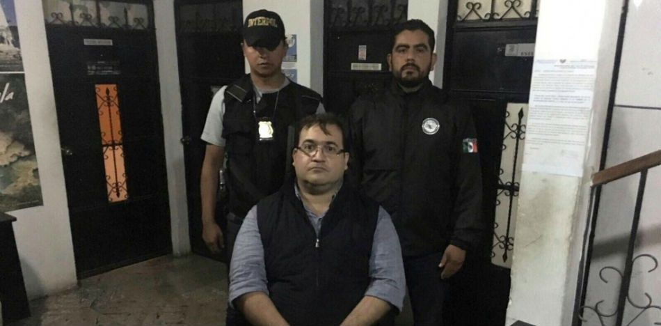 Javier Duarte Arrested in Guatemala