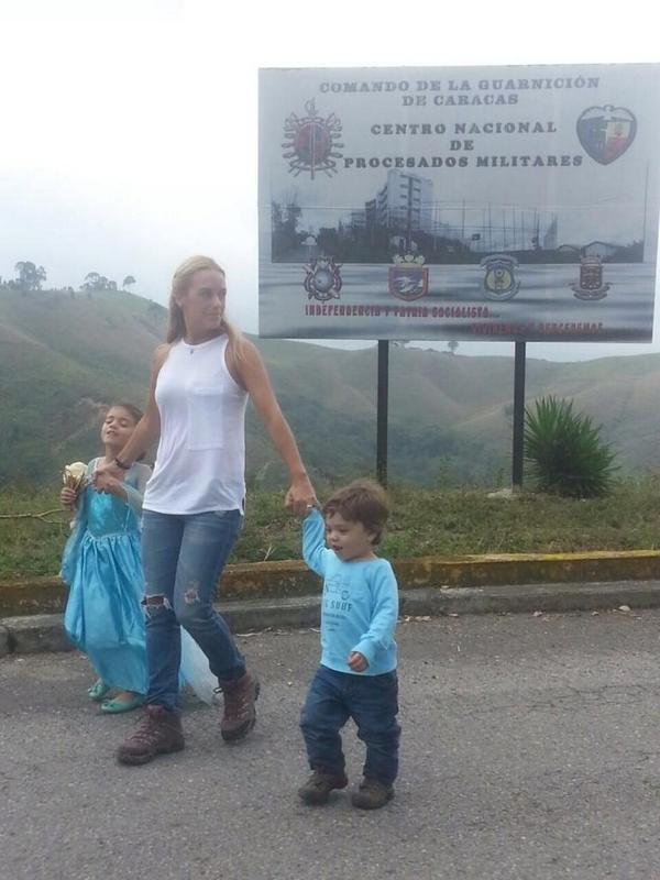 Venezuelan authorities informed Leopoldo López's wife, Lilian Tintori, that her husband will be transferred to another prison.
