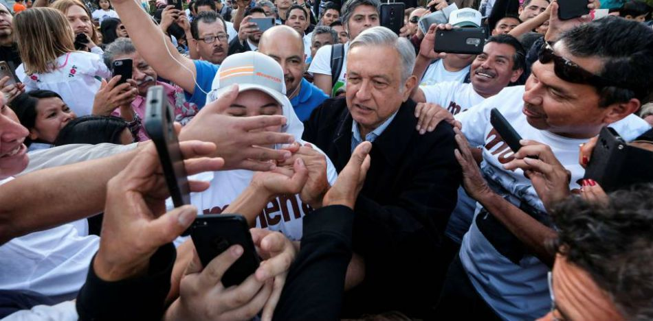 AMLO Protested Trump