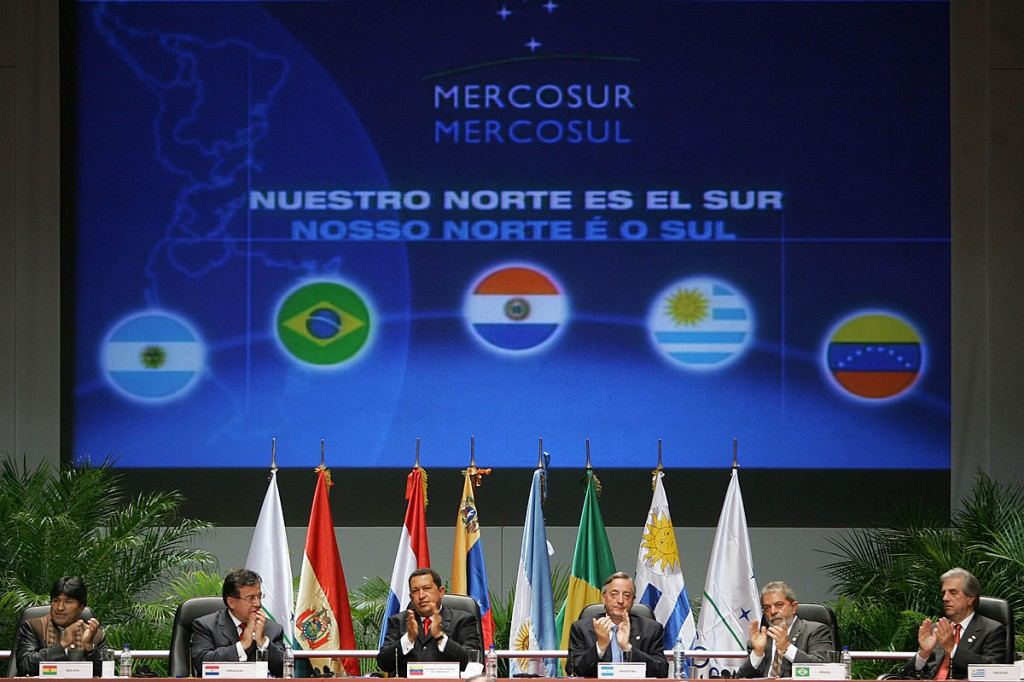 After several years of attempts, Venezuela joined Mercosur in 2012.