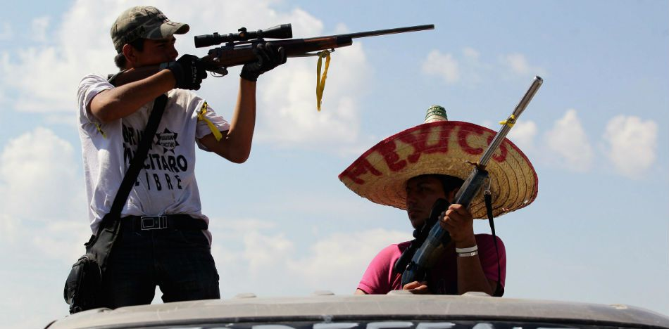 """Video Shows Mexico's Gulf Cartel Praying for Victory in """"War"""" with Authorities"""