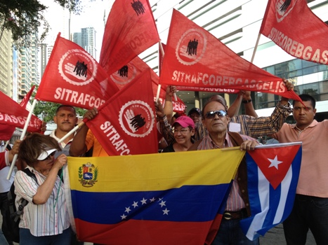 Unionists asked the Venezuelan activists not to make Maduro's government look bad at the Summit. (PanAm Post)